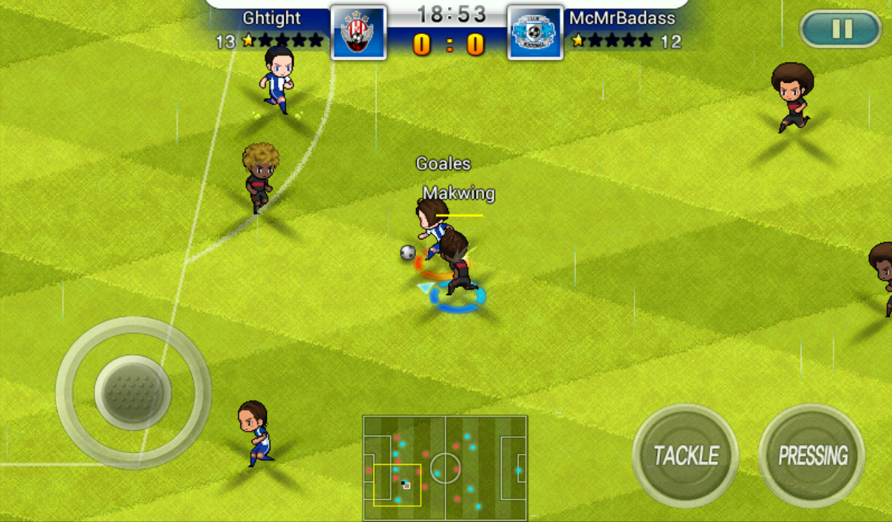 jeu gestion foot android