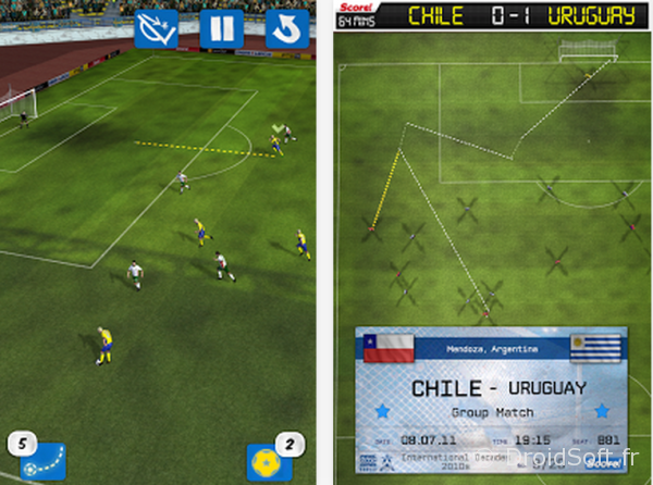 Jeu android foot