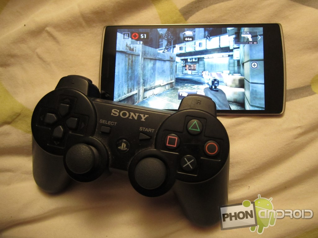 jeu android avec manette ps4 design de site internet. Black Bedroom Furniture Sets. Home Design Ideas