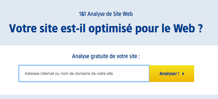 Analyse gratuite referencement site web