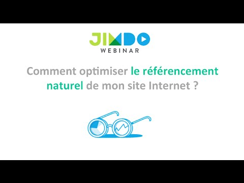 Referencement site web jimdo