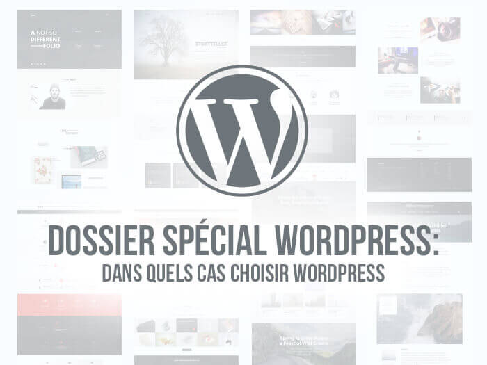 Creer son site web wordpress